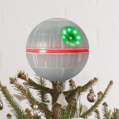 "Star Wars™ Death Star Tree Topper, 6.3"" - NIB"
