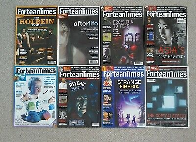 Fortean Times - Job Lot of 8 Magazines (2005 - 2008) *FREE POSTAGE*