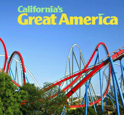 Californias Great America Tickets $38  A Promo Savings  Discount Tool