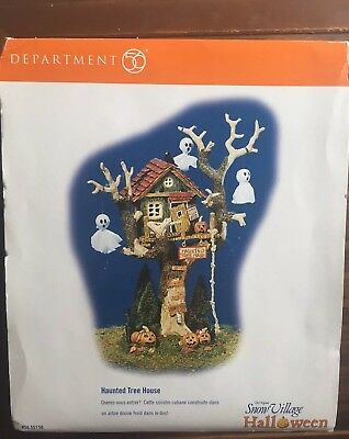 Department 56 – Halloween Haunted Tree House – #56.5515