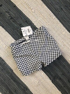 NWT Janie and Jack Sailboat Swim Shorts Navy and White Baby Boys 18-24M