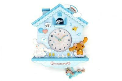 Wall Clock Cuckoo Mouse Pendulum Nursery Cute Pink Girl Room Gift Decor New