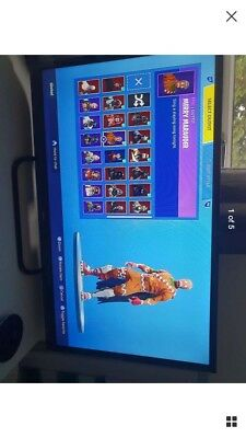 Fortnite Account with Christmas skins and others-read description