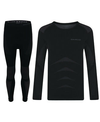 Dare 2b Kids Zonal Base Layer Set - Black - 2018