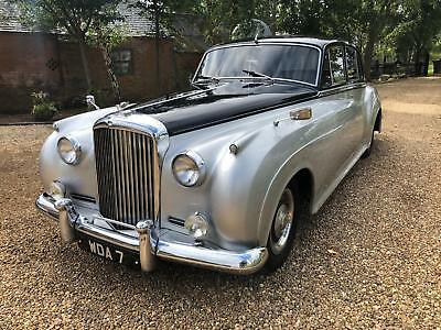 Bentley S1 In Black And Silver 1958 Runs And Drives Great