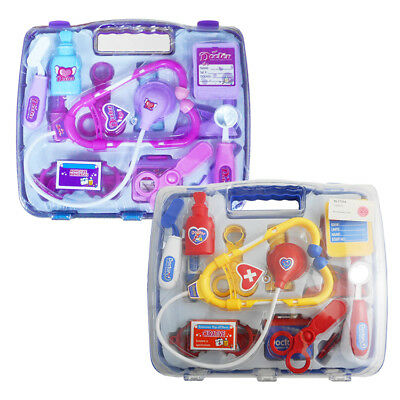 Kids Childrens Role Play Doctor Set In Carry Case Toy Medical Kit 3+ Years