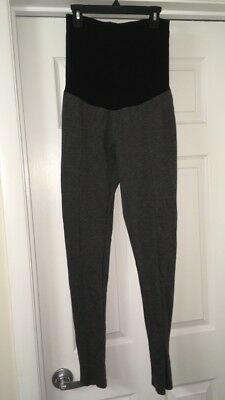 A pea in the pod maternity gray career pointe pants thick material size 3 small