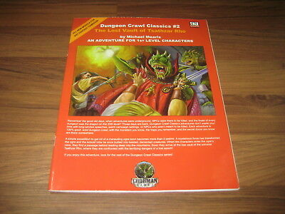 DCC Dungeon Crawl Classics #2 The Lost Vault of Tsathza 2005 SC Goodman Games VG