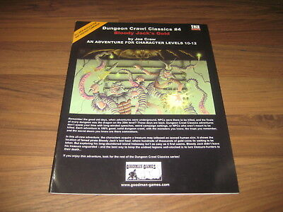 DCC Dungeon Crawl Classics #4 Bloody Jack's Gold 2004 SC Goodman Games VG