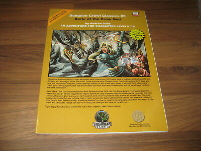DCC Dungeon Crawl Classics #5 Aerie of the Crow God Expanded Edt.  Goodman Games