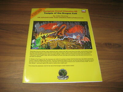 DCC Dungeon Crawl Classics #6 Temple of the Dragon Cult SC 2004 Goodman Games EX