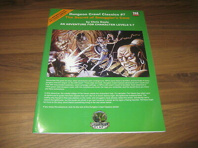 DCC Dungeon Crawl Classics #7 The Secret of Smuggler's  SC 2004 Goodman Games VG
