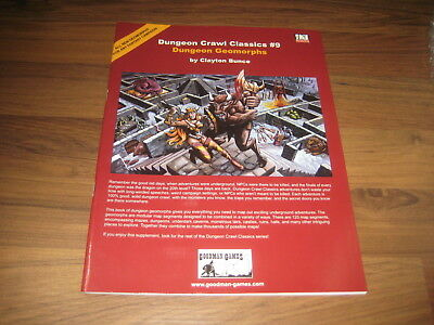 DCC Dungeon Crawl Classics #9 Dungeon Geomorphs  SC 2004 Goodman Games EX