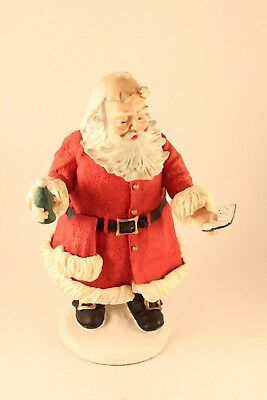Vtg Duncan Royale History of Santa Soda Pop Xmas Sculpture Apsit & Rodriguez