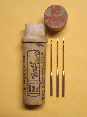 Boye Wheeler & Wilson D9, Singer 9W 127x1 Sewing Machine Needles