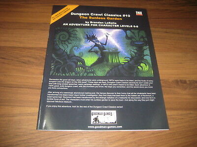 DCC Dungeon Crawl Classics #10 The Sunless Garden  SC 2004 Goodman Games VG