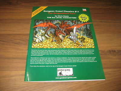 DCC Dungeon Crawl Classics #11 The Dragonfiend Pact SC 2004 Goodman Games VG