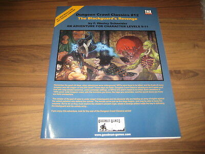 DCC Dungeon Crawl Classics #12 The Blackguard's Revenge SC 2005 Goodman Games EX