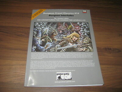 DCC Dungeon Crawl Classics #14 Dungeon Interludes SC 2005 Goodman Games VG