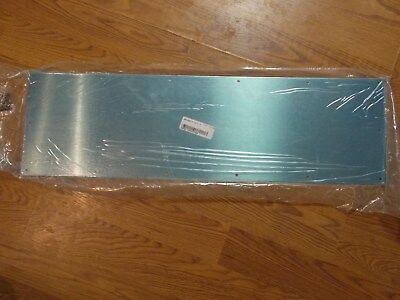 IVES Heavy Duty Kick plate (10x34) in Brushed Stainless Steel