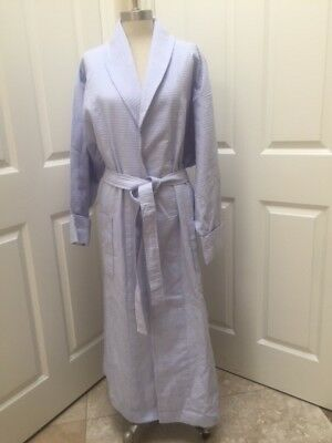 Womens Saks Fifth Avenue 100% Cotton Turkish Waffle weave Luxurious Shaw  robes a4c14e1ae