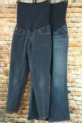 Maternity Pants/Jeans-Denim PXS/S Lot of 2
