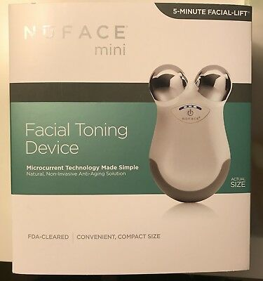 NEW Sealed NuFace Mini Facial Toning Device White