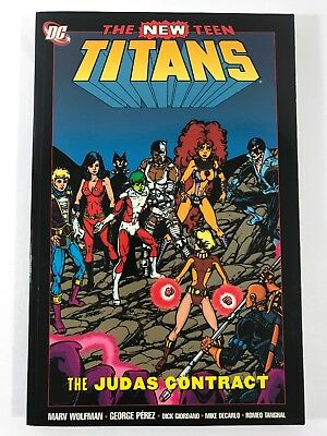 New Teen Titans The Judas Contract TPB (DC) 2003 4th Ed New Excellent Condition