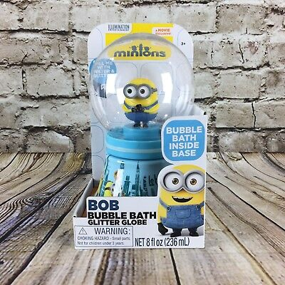 Despicable Me Minions Minion Bob Banana Scented Bubble Bath Glitter Globe