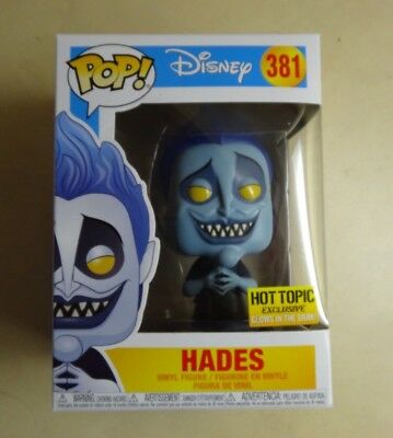 Funko POP Glow in the Dark Hades Hercules Hot Topic Exclusive Vinyl Figure #381