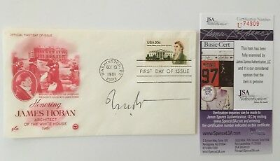 I.M. Pei Signed Autographed First Day Cover JSA Certified