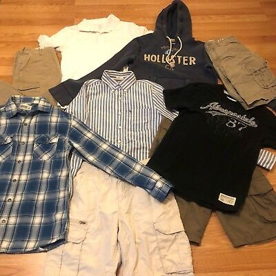HUGE LOT S Young Men's Clothing~Abercrombie, Hollister~Shorts, Pants, Shirts