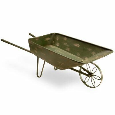 National Tree Company 39 in. Garden Cart, Antique Green, 39L x 17.75W x 14H in.