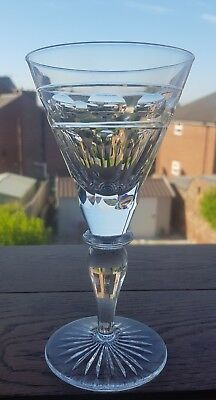 "Cumbria Crystal ""HELVELLYN"" Large Wine Glass –6 1/2"" Tall 165 mm"