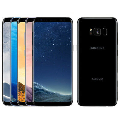 New Unlocked Samsung Galaxy S8 S8+ Plus LTE Smartphone Android GSM 64GB