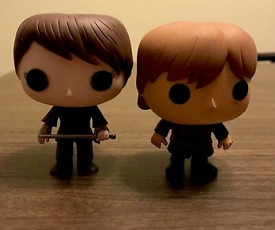 Funko Pop Game Of Thrones Arya Stark And Tyrion Lannister (no Box)