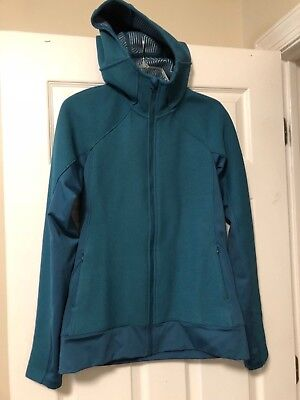 NWOT Under Armour Women's Teal coat Cold Gear Infrared Softer shell SZ M Jacket