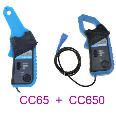 CC650 + CC65 AC/DC Current Clamp Meter Multimeter w/ Oscilloscope BNC Connector