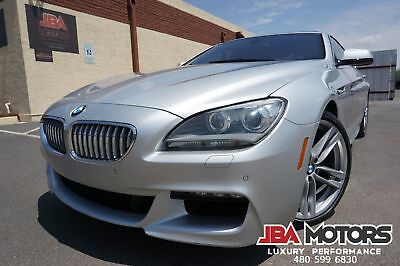 BMW 650i Gran Coupe 650i M Sport Package 6 Series 650 GranCoupe Sedan 2013 Silver 650 M Sport 6 Series 650 Gran Coupe like 2010 2011 2012 2014 2015 M6