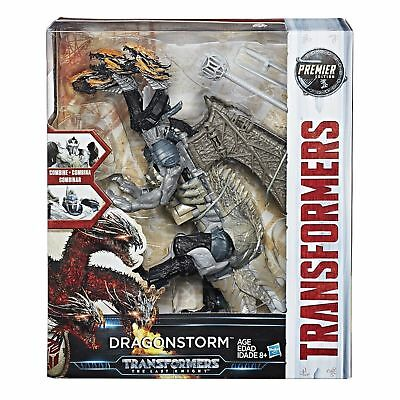 Transformers The Last Knight Premier Edition Dragonstorm Robot Action Figure Toy