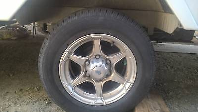 3 x Trailer - Caravan Wheels/Tyres