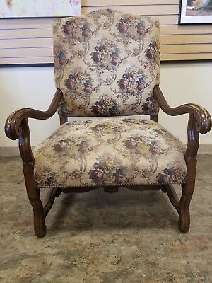 Vintage Large Fireside Lounge Arm Chair
