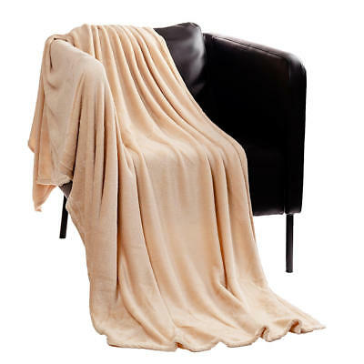 Warm Soft Breathable Lightweight Blanket Sofa Bed Travel Throwover,150*200CM