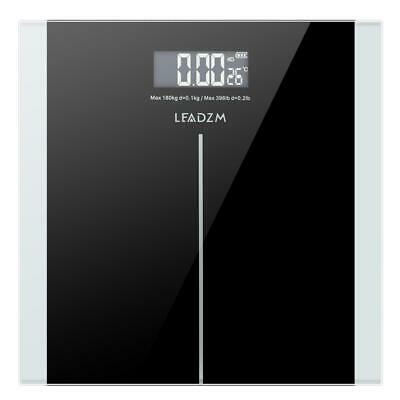 180kg Digital LCD Bathroom Scales Weighing Body Scale for Weight Watchers Load