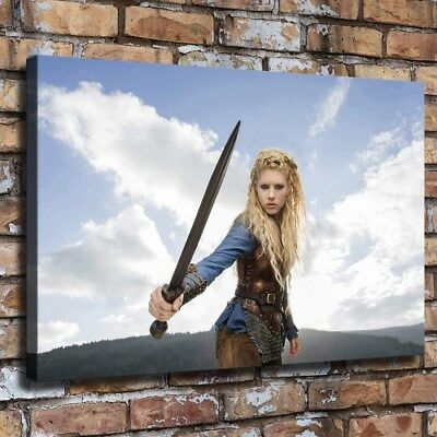 """12""""x18""""Lagertha """"HD Canvas Prints Painting Home Decor Picture Wall Art Posters"""