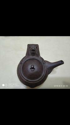 JAPAN Banko ware Raccoon dog Teapot(it is really rare and  brand new.)