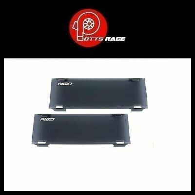 "Rigid Industries PAIR E-Series Radiance 10/"" Light Cover Smoked Color* 110983 *"