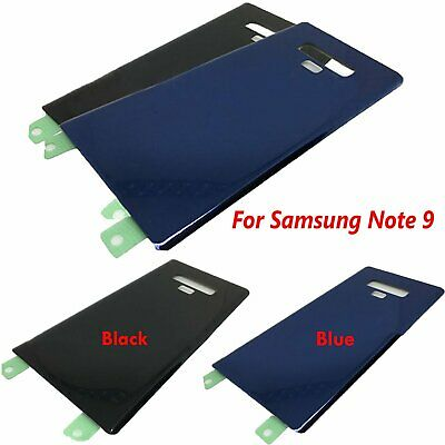 Battery Back Door Glass Cover Case For Original Samsung Galaxy Note 9 N960 N960F