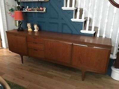 MCM Danish Style Retro 1960's Long Greaves & Thomas Teak/Afromosia Sideboard