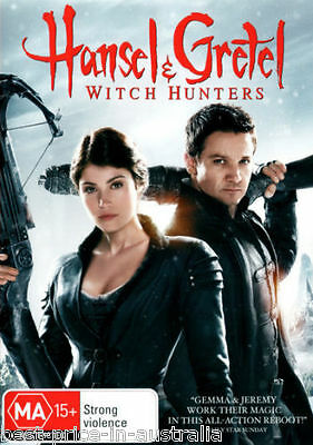 HANSEL & GRETEL- Witch Hunters DVD BRAND NEW SEALED ACTION FANTASY HORROR R4